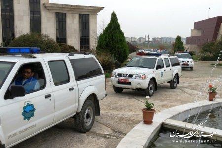با حضور برخي از مقامات استانداري گلستان مانور مديريت بحران شهرستانهاي استان برگزار شد
