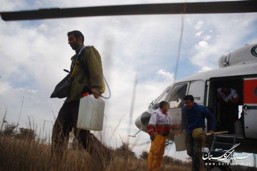 اطفای حریق پارک ملی گلستان به روایت تصویر