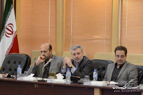 گزارش تصویری از شورای هماهنگی مدیریت بحران استان گلستان دی ماه 93