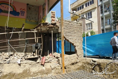 آوار بیتفاوتی بر حوادث گودبرداری غیراصولی در گرگان /گزارش تصویری