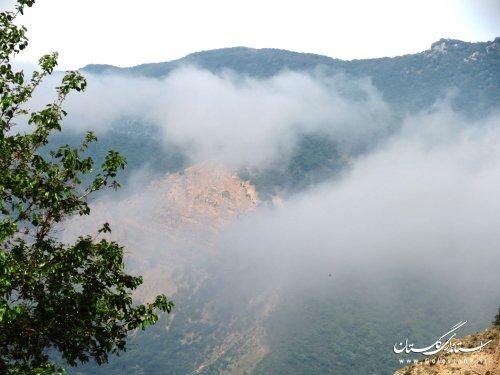 برگزاری مانور اطفاء حریق  در پارک ملی گلستان