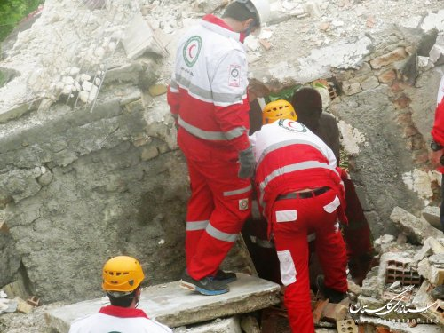 گزارش تصویری از مانور تخصصی امداد و نجات در منطقه روستایی «چهجا»