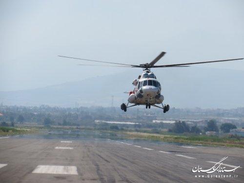 مانور طرح اضطراري فرودگاه بین المللی گرگان برگزار شد/گزارش تصویری