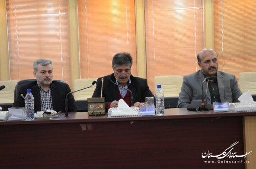 گزارش تصویری جلسه شورای هماهنگی مدیریت بحران استان گلستان