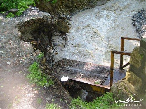 مدیریت به موقع حادثه سیل مانع از فاجعه انسانی در ((زیارت گرگان)) شد