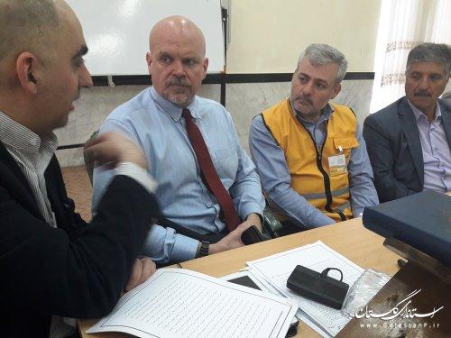 گزارش تصویری از حضور مدیران گلستانی درآموزش ستادی مدیریت بحران