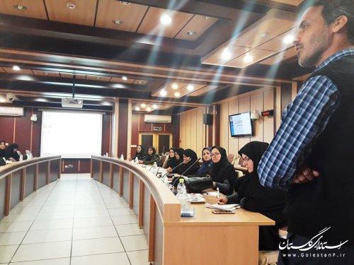 جامعه ایمن بدون نقشآفرینی زنان امکانپذیر نیست/ برگزاری دوره آموزشی بانوان در استانداری گلستان