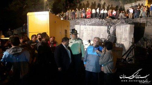 استاندار گلستان اعلام کرد:عامل انسانی علت وقوع حادثه انفجار معدن آزادشهر