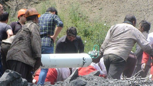 تشکیل جلسه اضطراری شورای هماهنگی مدیریت بحران در محل حادثه معدن زغال سنگ آزادشهر