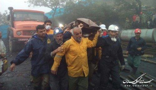 کشف جسد آخرین بازمانده حادثه انفجار معدن آزادشهر/ آمار جانباختگان به 43 نفر رسید + تصاویر