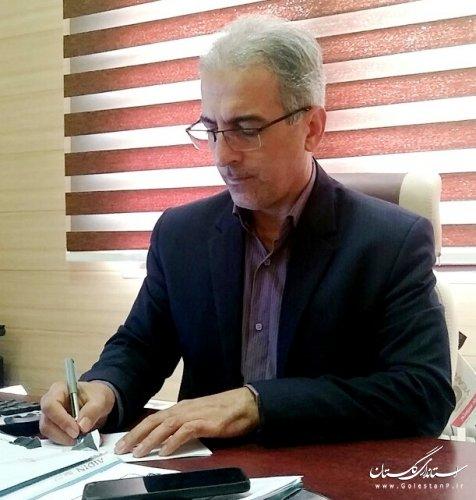 حضور مدیرکل مدیریت بحران گلستان در مرکز سامد استان