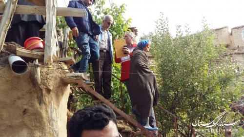 گزارش تصویری/ بازدید مجتبی جمالی مدیرکل مدیریت بحران گلستان از مناطق سیلزده شاهکوه