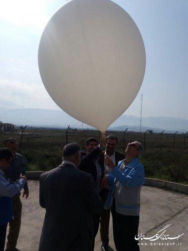 بازدید مدیرکل مدیریت بحران استان گلستان از ایستگاه هواشناسی فرودگاهی مرکز استان