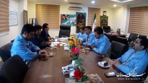 بازید کارشناسان مدیریت بحران گلستان از ظرفیتهای فرمانداری مراوهتپه در شرایط حوادثی