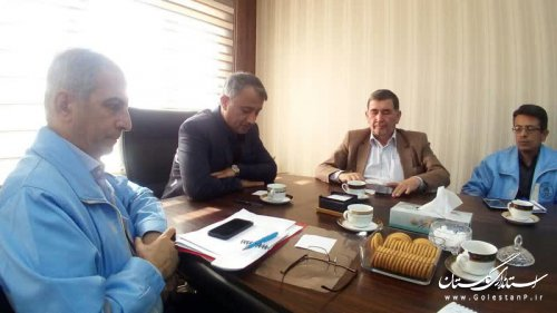 بازدید مدیرکل مدیریت بحران گلستان از فرمانداری و پروژههای حوادثی گنبدکاووس