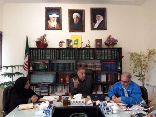 بازدید جمالی مدیرکل مدیریت بحران از فرمانداری گرگان برای آمادگی بیشتر در شرایط حوادثی
