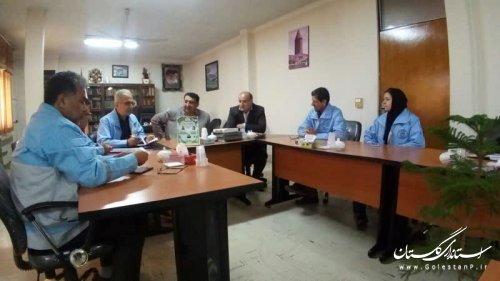 بازدید جمالی مدیرکل مدیریت بحران از فرمانداری کردکوی برای آمادگی بیشتر در شرایط حوادثی