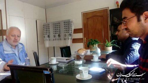 نشست کارشناسان مدیریت بحران گلستان با رئیس مرکز مدیریت اطلاعات و حوادث سازمان مدیریت بحران
