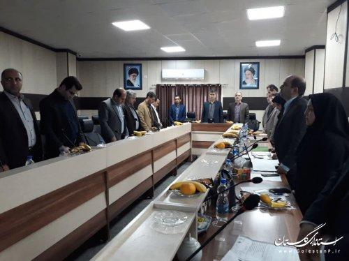 برگزاری جلسه ارائه طرح مدیریت حوزههای آبخیزداری «حوزه چهلچای مینودشت»