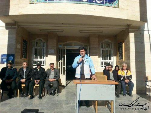 بیستمین مانور زلزله و ایمنی در مدارس بندرگز برگزار شد
