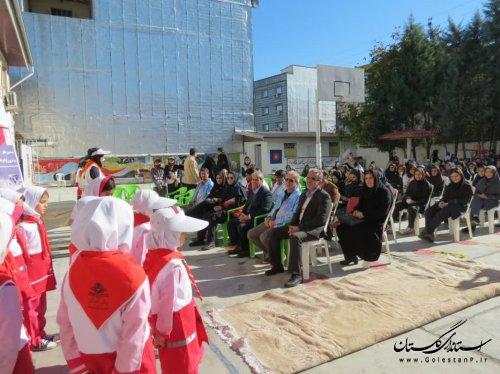 بیستمین مانور سراسری زلزله و ایمنی گلستان برگزار شد