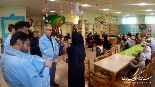 اجرای  همزمان برنامههای فرهنگی_ هنری و مانور زلزله در کانون پرورش فکری گلستان