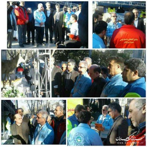 اغاز نمایشگاه دو روزه فعالیتهای دستگاههای عملیاتی مدیریت بحران استان