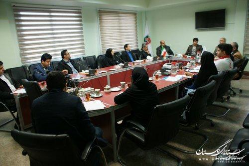 برگزاری کارگروه تخصصی شریانهای حیاتی استان گلستان