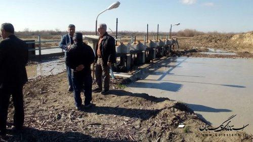 گزارش تصویر بازدید مدیرکل مدیریت بحران گلستان از مناطق سیلزده «داشلیبرون» گنبدکاووس