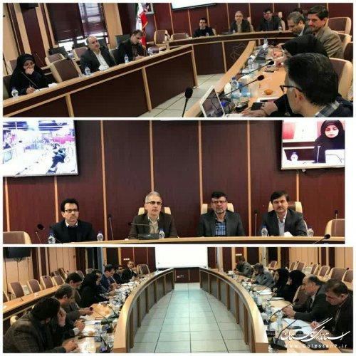 جلسه بررسی و توزیع اعتبار تسهیلاتی بخشودگی و امهال تسهیلات بخش کشاورزی گلستان