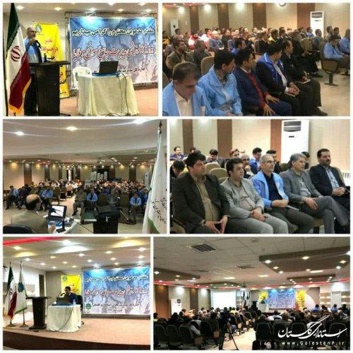 برگزاری دوره آموزشی «مدیریت جامع سوانح و بلایا» برای 7 شهرستان گلستان