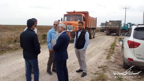 بازدید مدیریت بحران استانداری گلستان از روند پاکسازی مجتمع پیگر در آق قلا