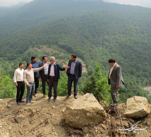 بازگشایی محور روستای کوهستانی میان رستاق علی آباد کتول تا 24 ساعت آینده