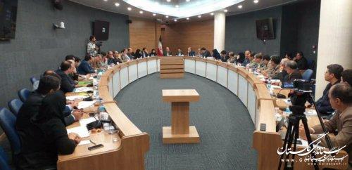 استاندار گلستان در بیستمین جلسه ستاد بازسازی و نوسازی مناطق سیل زده استان؛ تا کنون پی کنی 5 هزار و 461 واحد مسکونی سیلزده انجام شده است
