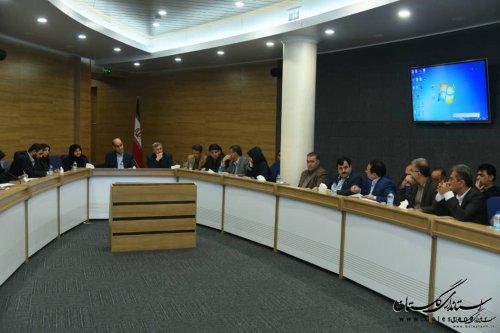 استاندار گلستان در بیست و سومین جلسه قرارگاه بازسازی و نوسازی مناطق سیل زده استان: ۸۰ درصد واحدهای مسکونی احداثی تا شروع فصل سرما تحویل می شود