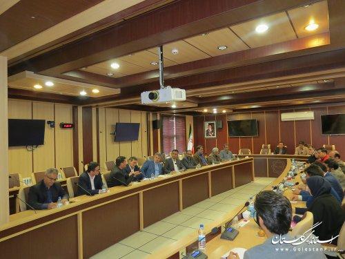 برگزاری سومین جلسه مانور ششم آذر ماه  98 با موضوع زلزله و ایمنی مدارس در اداره کل مدیریت بحران