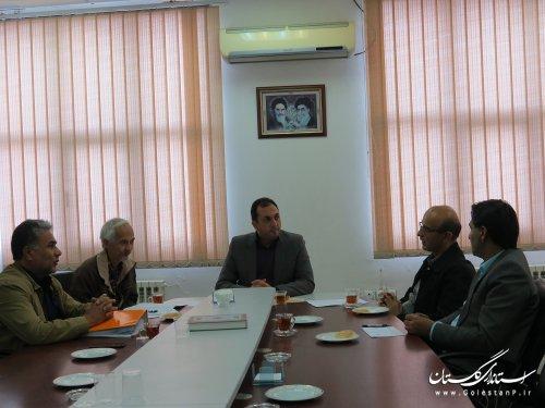 جلسه هماهنگی طرح جامع بازتوانی در مخاطرات طبیعی ویژه حادثه سیل در استان برگزار شد.