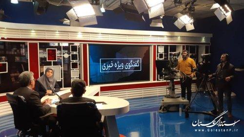 حضور مهندس قادری مدیرکل مدیریت بحران در گفتگوی ویژه خبری با موضوع مانور زلزله در مدارس