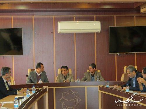 جلسه هماهنگی روز ملی ایمنی  در برابر زلزله و کاهش اثرات بلاهای  طبیعی