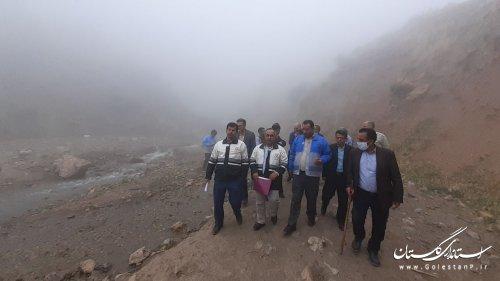 بازدید از روستای رانشی سیاه مرزکوه شهرستان علی آباد کتول