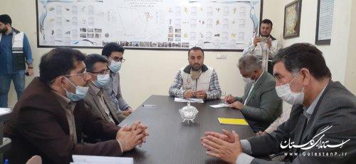 بررسی و رفع موانع اجرایی بازسازی واحدهای مسکونی خسارت دیده گمیشان
