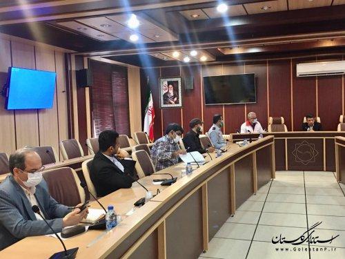 جلسه هم اندیشی در خصوص وظایف برخی از دستگاه های عضو ستاد پیشگیری هماهنگی و فرماندهی عملیات پاسخ به بحران استان در قانون بحران