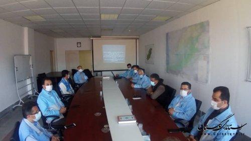 برگزاری دوره آموزشی  آتش سوزی و اطفا حریق برای پرسنل مدیریت بحران استان