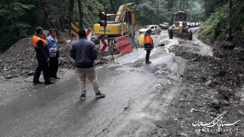 خسارتهای ایجاد شده از بارشهای رگباری و شدید و بروز سیل درسطح استان  در مورخ 99/04/24