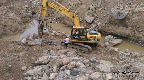 بازدید مدیرکل مدیریت بحران استان از طرح علاج بخشی پل شهرفاضل آباد در شریان اصلی استان