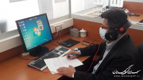 حضور مدیرکل مدیریت بحران استان در مرکز سامد جهت پاسخگویی به درخواستها و مشکلات مردمی و دستگاهها در امر مدیریت بحران