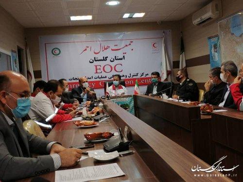 حضور مهندس سیدرضا قادری در جلسه کارگروه امداد و نجات پدافند غیرعامل استان