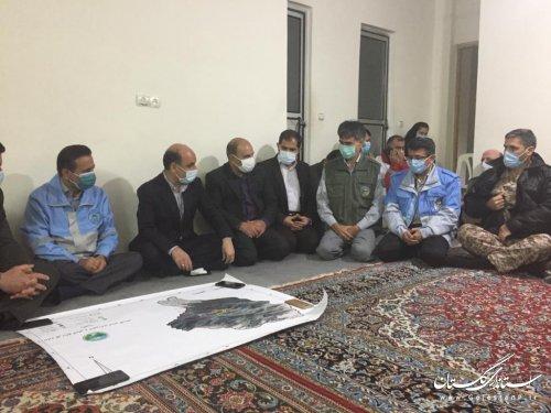 نشست نهایی برنامه اطفای حریق جنگل توسکستان(گزارش تکمیلی)