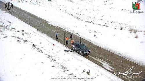 بازگشایی مسیر گرگان- شاهرود محور توسکستان
